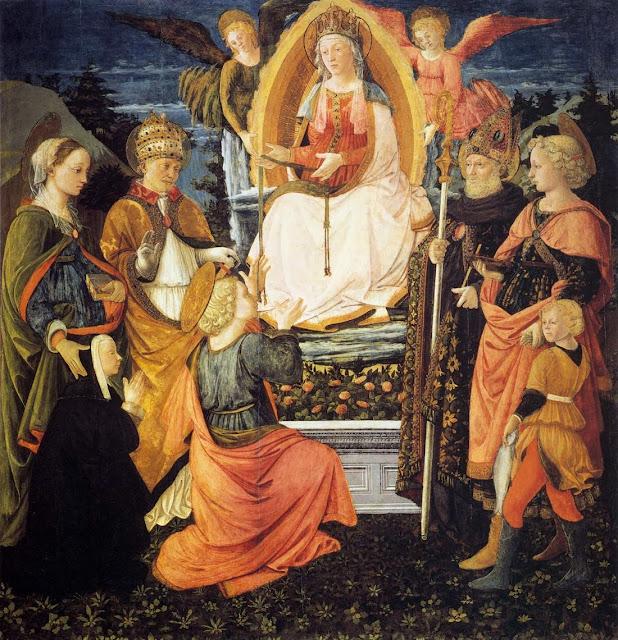 Filippino Lippi - Madonna della Cintola