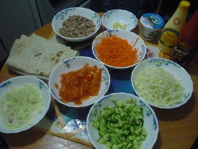 рецепт шаурмы домашней
