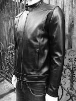 áo khoác da bò nam cao cấp đen