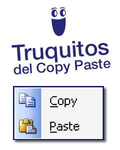 Copiar y pegar con Microsoft Project
