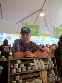 Oregon Bounty Grand Tasting, Friday, Ben Jacobs3n himself of Jacobs3n Salt