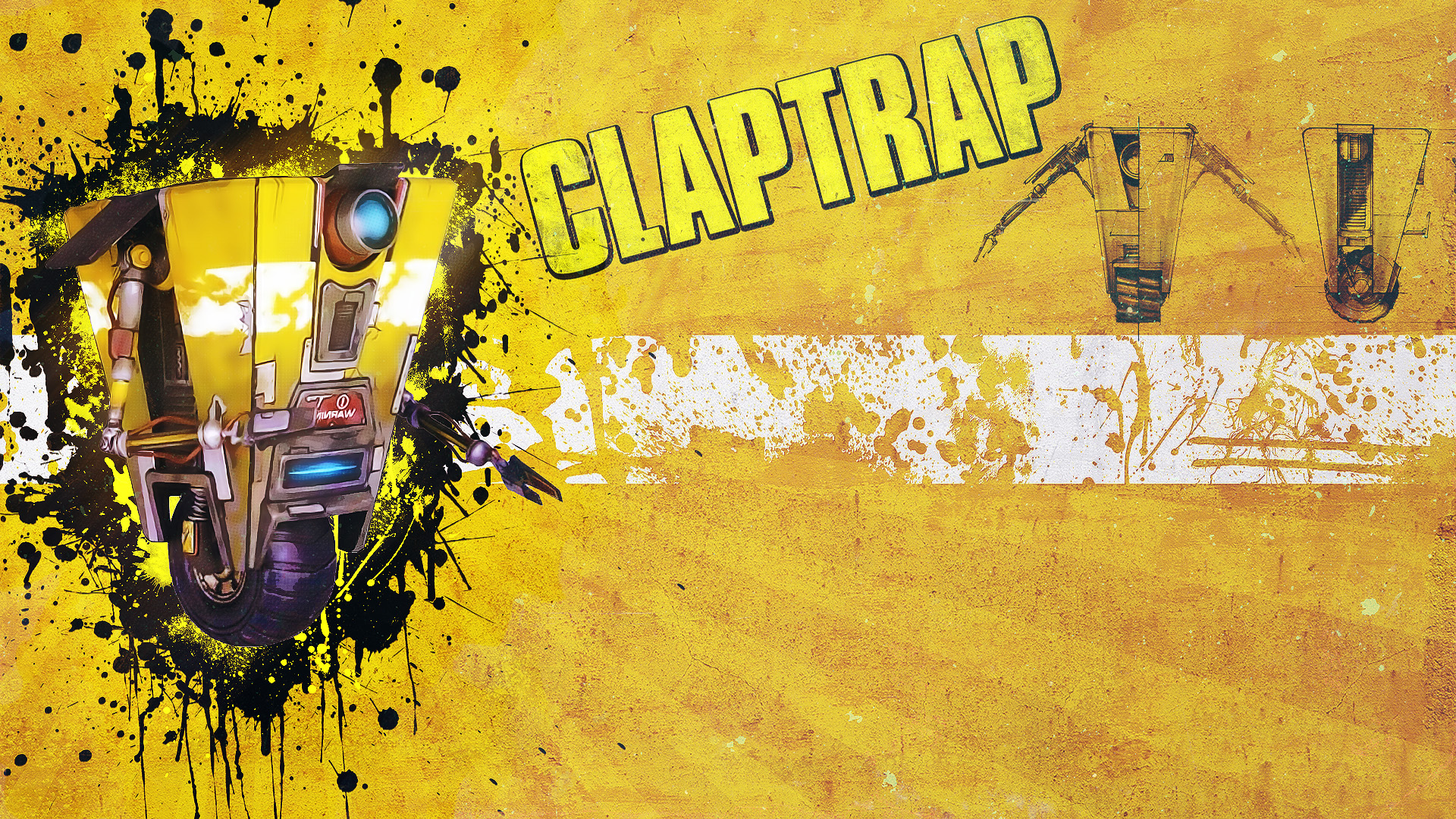 gallery for claptrap wallpaper