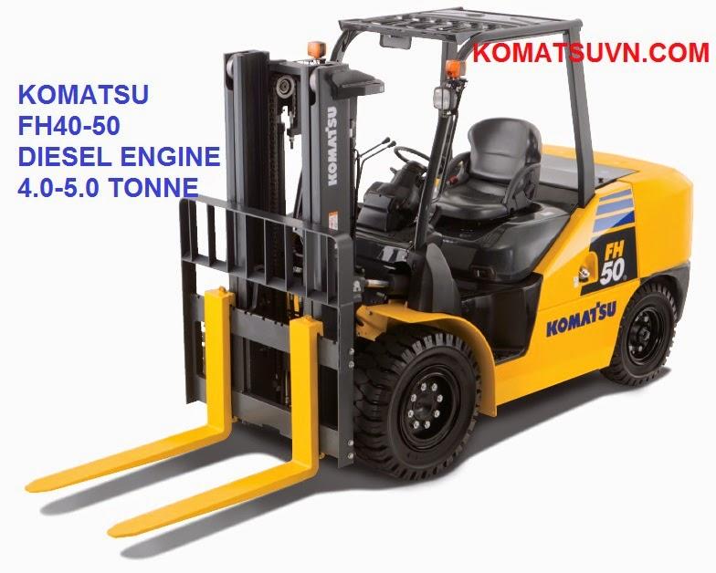 xe nang diesel Komatsu FH