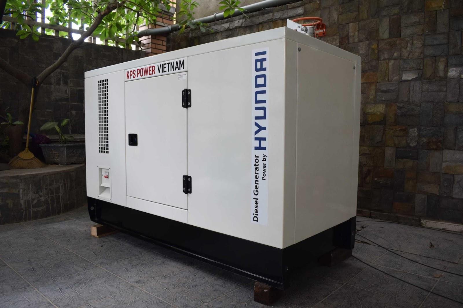 Cách nhận biết máy phát điện sử dụng động cơ Hyundai chính hãng