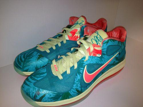 super popular 28467 7ad05 ... Nike LeBron 9 Low 8220LeBronold Palmer8221 Alternate 8211 Inverted  Sample ...