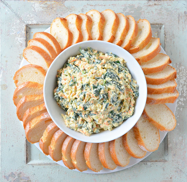 Spinach Dip From Scratch