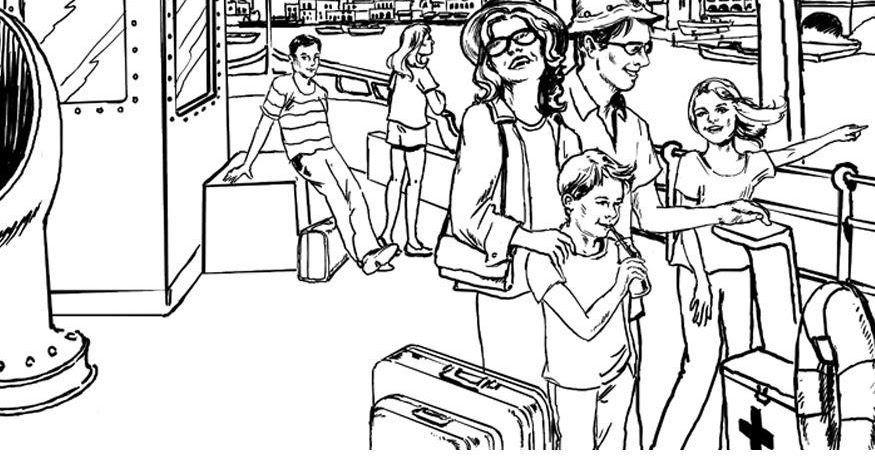 ausmalbilder malvorlagen familienurlaub malvorlagen