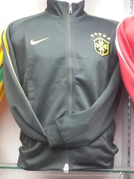 Jual Jaket Brazil Hitam Kuning Grade Original