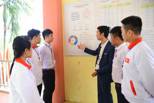 tien bo vuot bac cua thuc tap sinh ky nang batimex trong nam 2018
