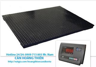 Cân sàn điện tử 1 tấn yaohua A12