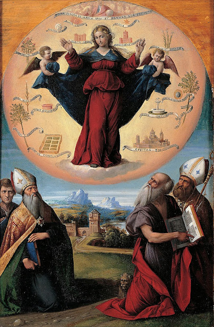 Garofalo - Madonna in Glory and Holy Hones - Google Art Project