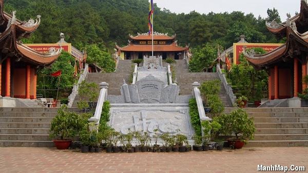 đền thờ Chu Văn An - Chí Linh - Hải Dương