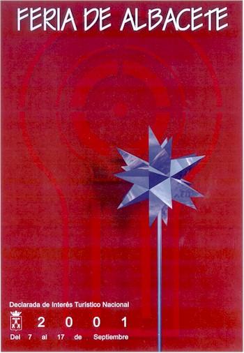 Cartel Feria Albacete 2001