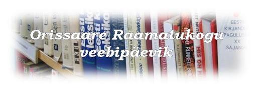 Orissaare Raamatukogu veebipäevik