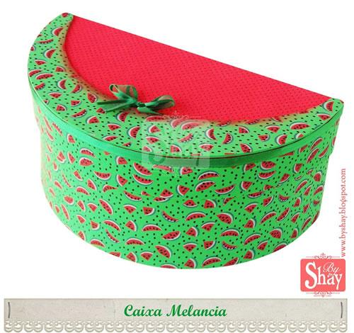 caixa de EVA melancia