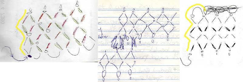 Beaded Netting Plan Sketch Examples