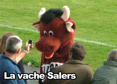 Mascotte rugby Stade Aurillacois