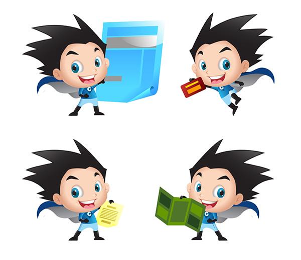 creative cartoon mascot