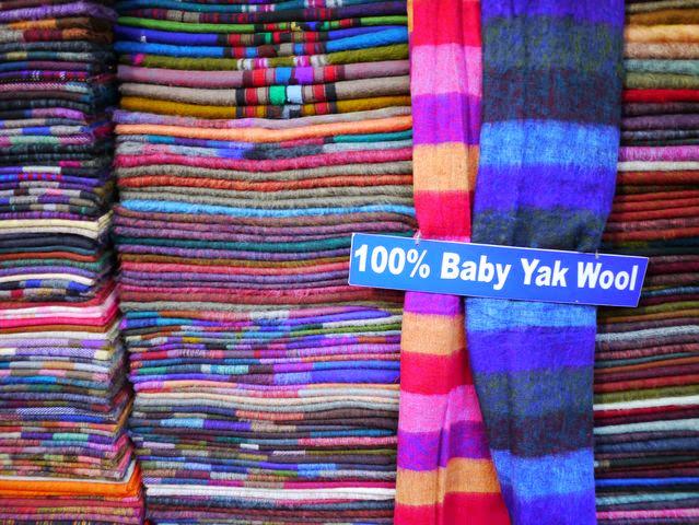 達人帶路-環遊世界-尼泊爾-圍巾