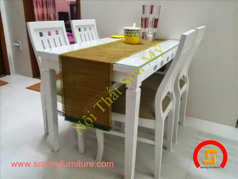 Bộ bàn ăn 4 ghế
