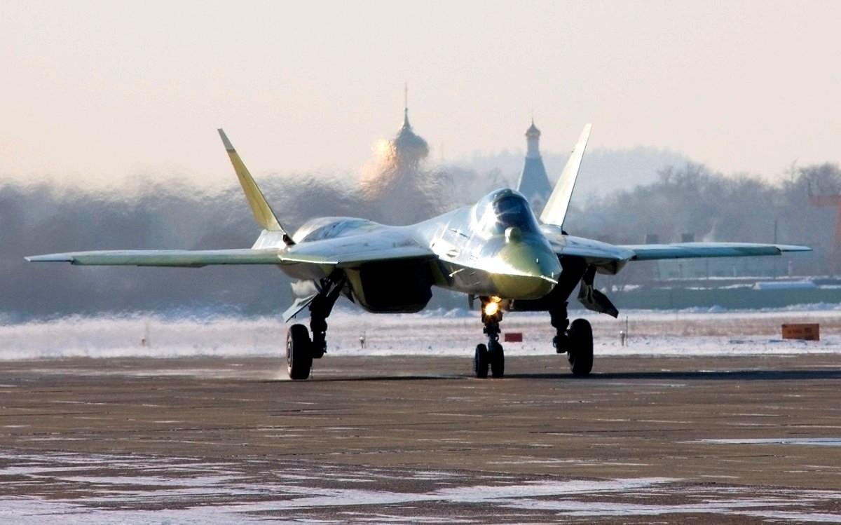 Sukhoi T-50 Jet Fighter Wallpaper 2