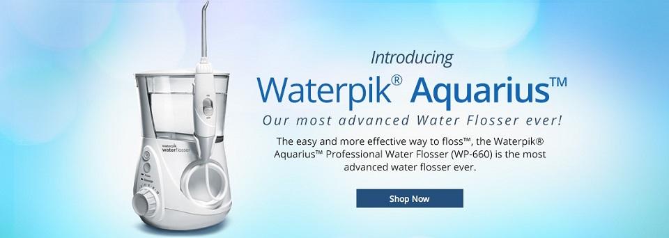 waterpik aquarius 660 water flosser