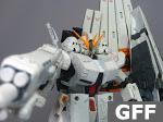 Earth Federation Forces (EFF) FA-93HWS v Gundam Heavy Weapons System Type