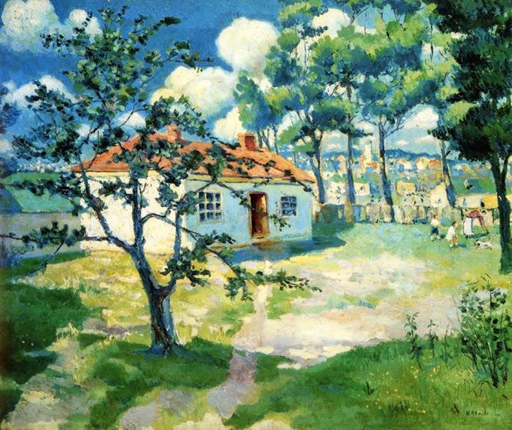 Kazimir Malevich - Spring, 1929