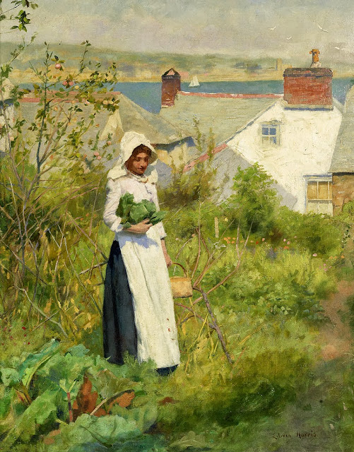 Edwin Harris - A Cornish cottage garden