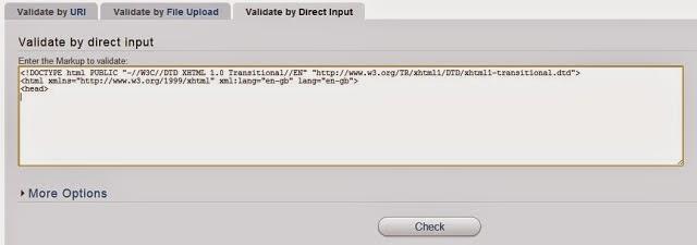 Cách kiểm tra website của bạn có đúng chuẩn W3C hay không 3