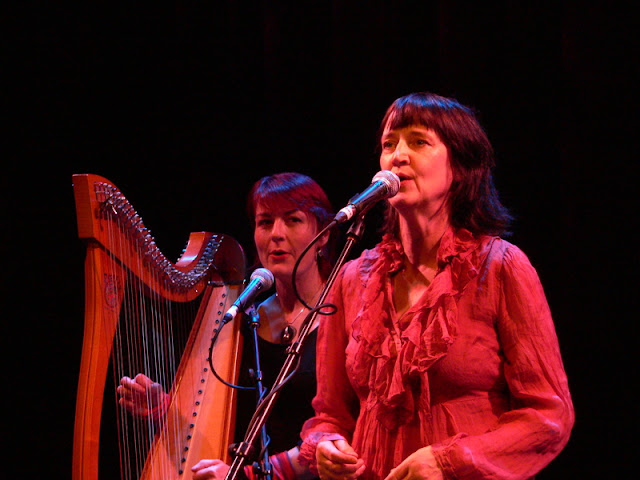 Mary Jane Lamond and Corrina Hewat at the Taste of Celtic Colours concert