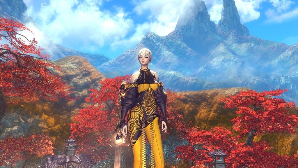 Nữ hiệp Blade & Soul khoe sắc cùng rừng phong - Ảnh 8