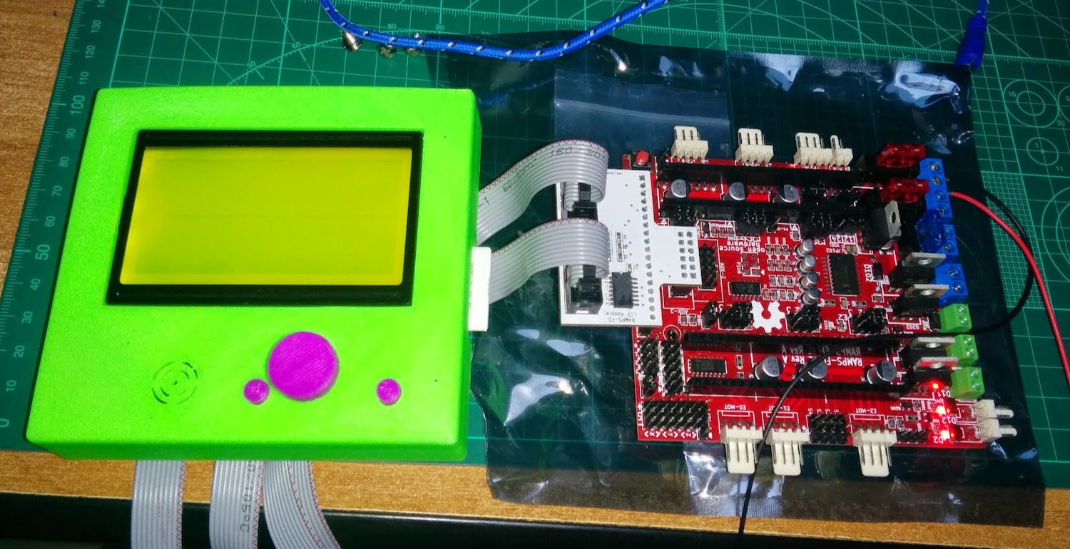 Lcd Panel Adapter For Ramps Fd Not Work 12864 Geeetech 14