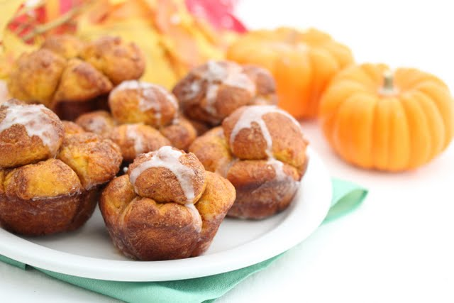 Cinnamon Pumpkin Bubble Buns