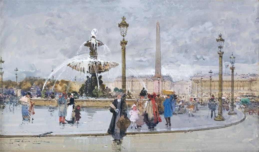 Eugène Galien-Laloue - La Concorde