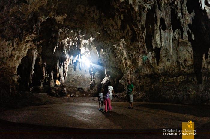 The Dance Hall at Hoyop-Hoyopan Cave in Camalig, Albay