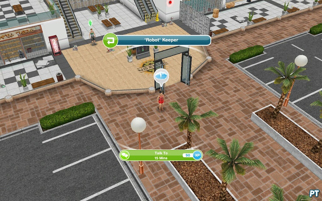 sims freeplay how to play frisbee with dog