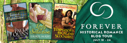 Historical Romance Blog Tour, Q&A with Paula Quinn and GIVEAWAY