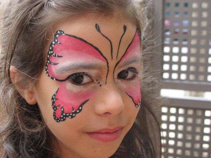 cosas de wala maquillaje facial mariposa