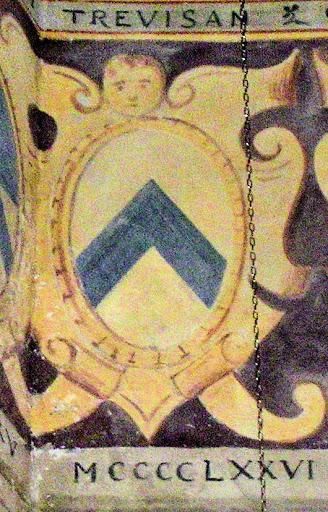 Stemma dei Trevisan, palazzo comunale di Asolo, 1476
