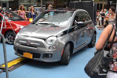 Fiat 500 Prima Edizione 29 in Time Square