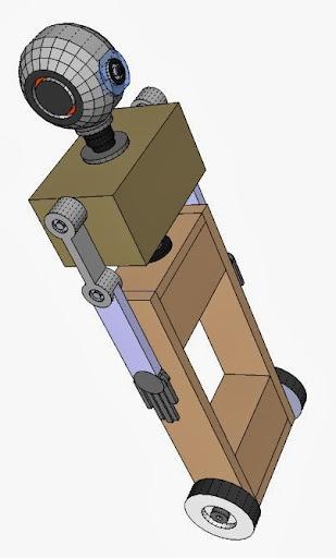 Salvius robot CGI