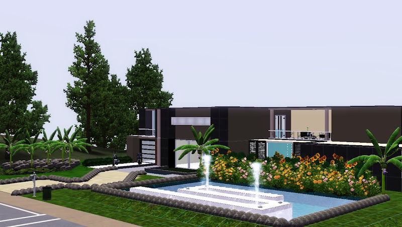 Capital sims ver tema bonita mansion the sims 3 for Casa moderna los sims 3