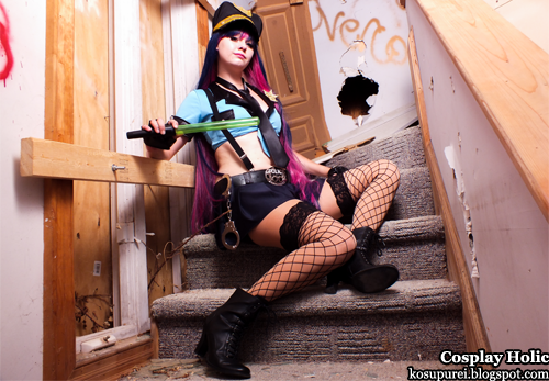 panty & stocking with garterbelt cosplay - panty anarchy by maka
