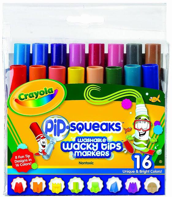 Bộ bút lông mini 16 màu Crayola cho bé tha hồ tạo nên những bức tranh xinh đẹp