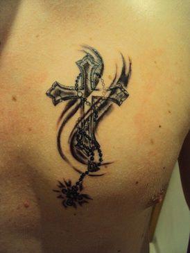 tatuaze krzyze