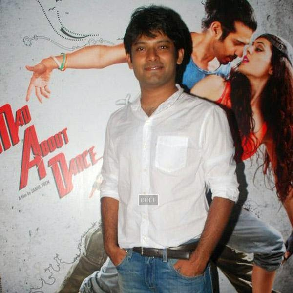 Akhilesh Unnithan attends the trailer launch of Bollywood movie Mad About Dance, held at Fun Republic, on July 16, 2014.(Pic: Viral Bhayani)