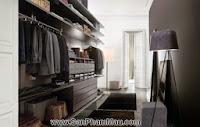 Phòng thay đồ 'chuẩn men' cho quý ông