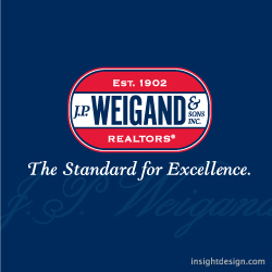 J. P. Weigand & Sons logo design Wichita, KS