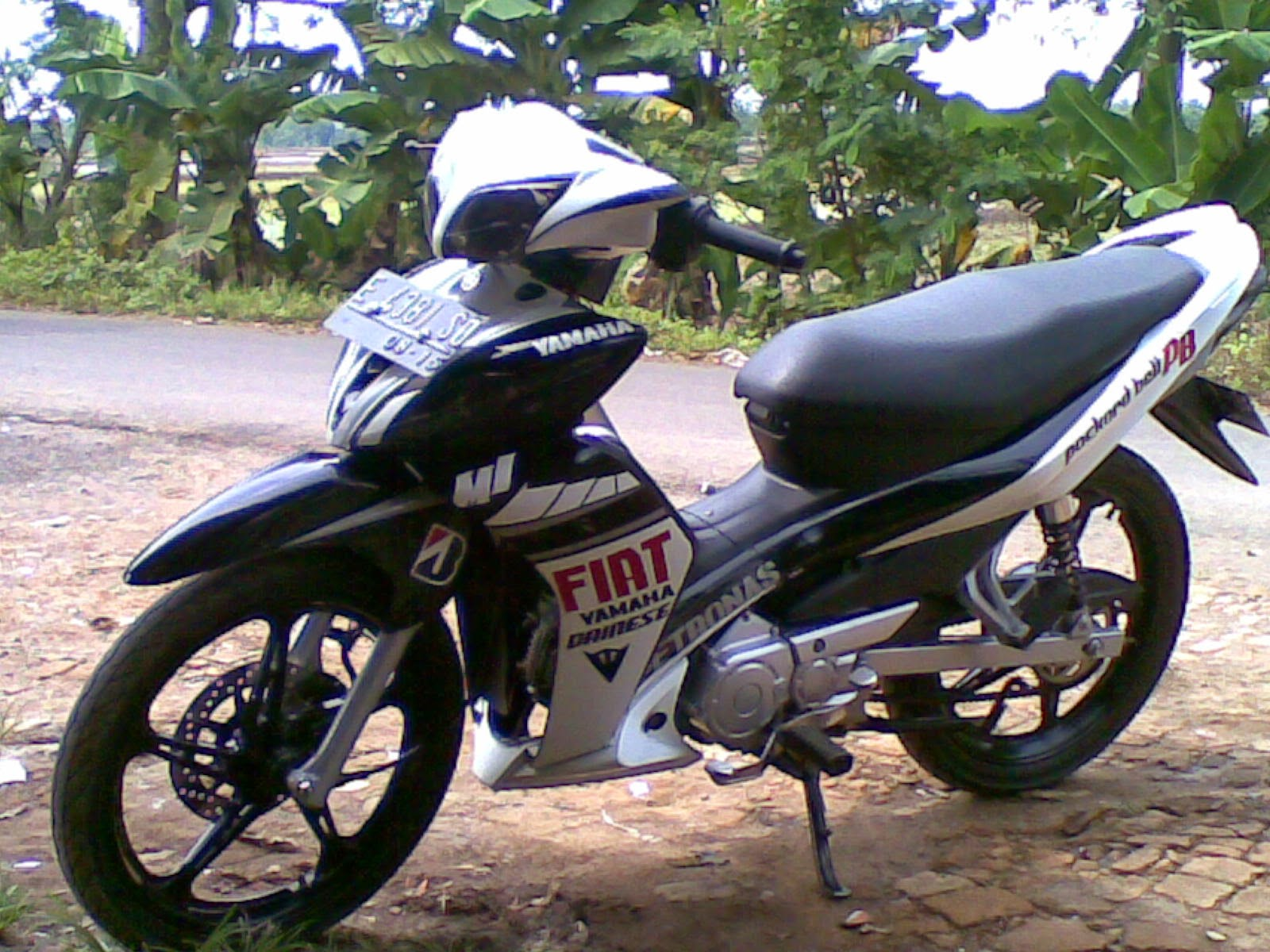 Modifikasi Jupiter z 2004 Modifikasi Yamaha Jupiter z